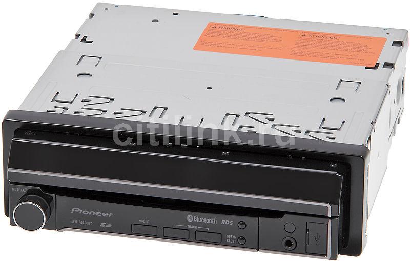 Автомагнитола PIONEER AVH-P6300BT,  USB,  SDHC