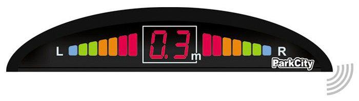 Парковочный радар PARKCITY Mars 420/404W,  черный