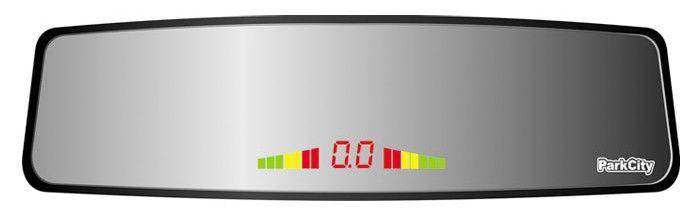 Парковочный радар PARKCITY Ontario 420/105,  серебристый