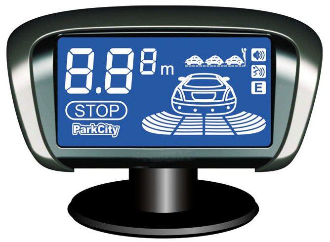 Парковочный радар PARKCITY Paris 420/301L,  серебристый
