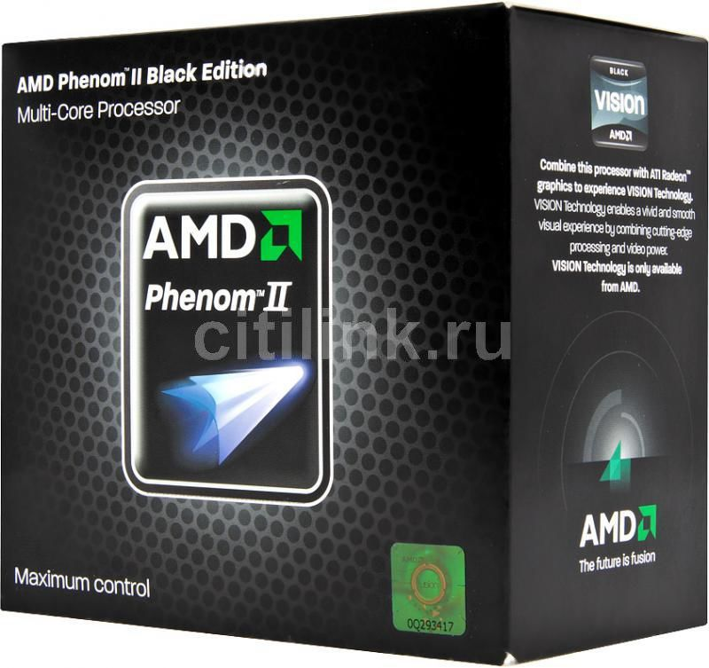 Процессор AMD Phenom II X4 975, SocketAM3 BOX [hdz975fbgmbox]