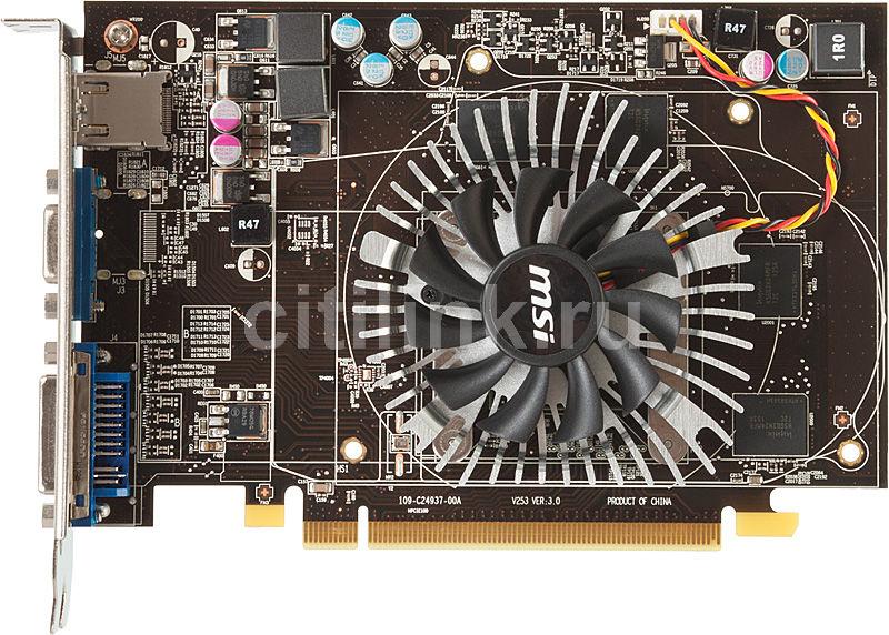 Видеокарта MSI Radeon HD 6670,  1Гб, GDDR5, Ret [r6670-md1gd5]
