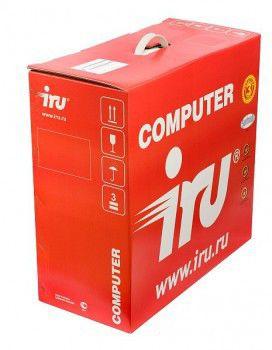 IRU Corp 510,  Intel  Core i3  550,  DDR3 4Гб, 250Гб,  Intel HD Graphics,  DVD-RW,  Windows 7 Professional,  черный