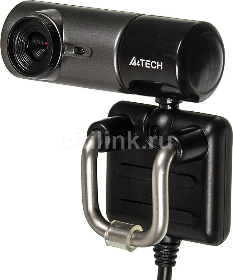 Web-камера A4 PK-835G,  серый и черный [pk-835g(silver grey )]