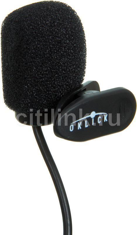 Микрофон OKLICK MP-M008,  черный