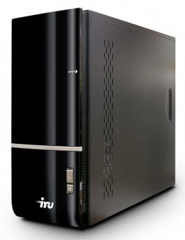 ПК iRU Home 710 i5-760/4096/ 2Tb/HD5750-1024/DVD-RW/CR/black