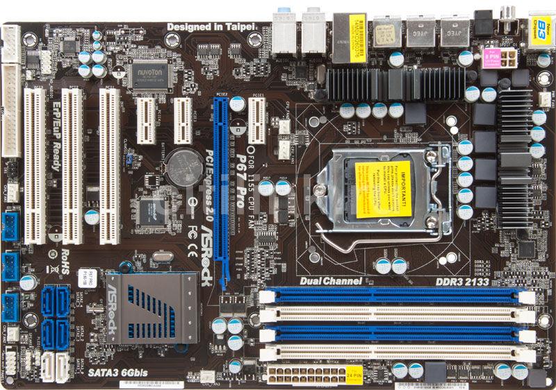 Asrock P67 Pro XFast USB Driver for Windows