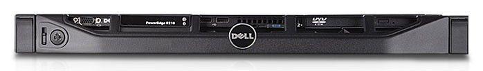 Сервер Dell PE R310 X3450 2.66/4G(2x2G RDIMM 1R 1333)/SAS 3.5