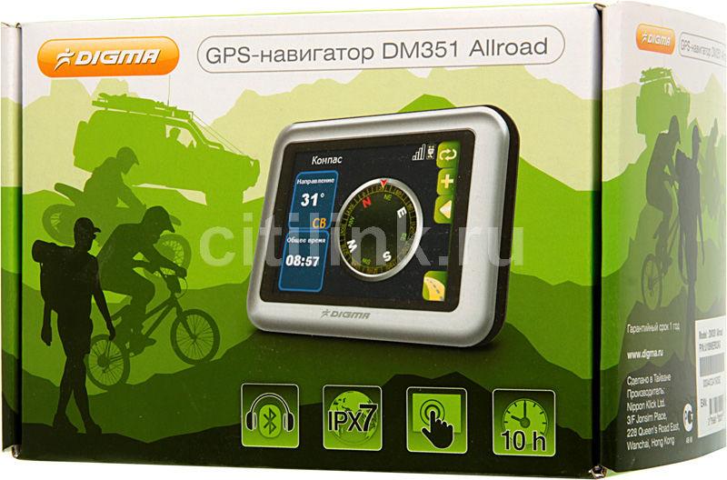 Навигатор gps digma dm351 allroad 3 5