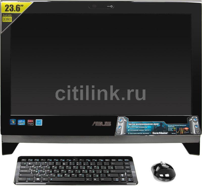 Моноблок ASUS ET2400IGTS, Intel Core i5 2400S, 4Гб, 500Гб, nVIDIA GeForce G310M - 512 Мб, DVD-RW, Windows 7 Home Premium, черный [90pe3va13616e61b9c0q]
