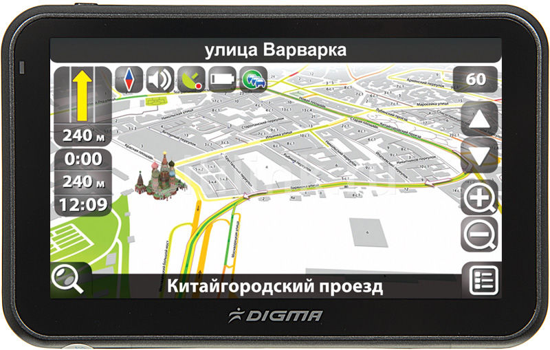 GPS навигатор DIGMA DG503N,  5