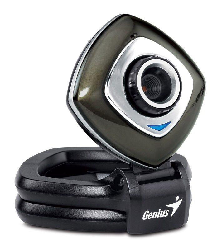 Web-камера GENIUS e-Face 2025,  черный и серебристый
