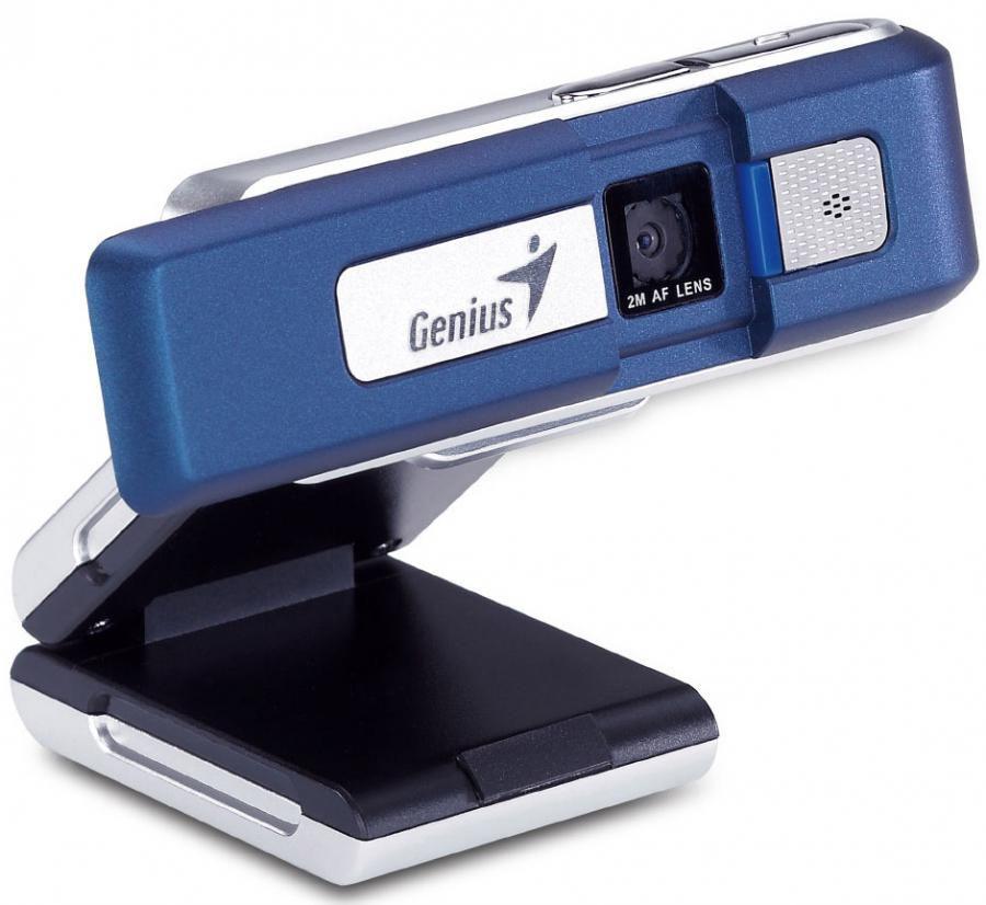 Web-камера GENIUS iSlim 2000 AF + флешка 2Гб,  синий