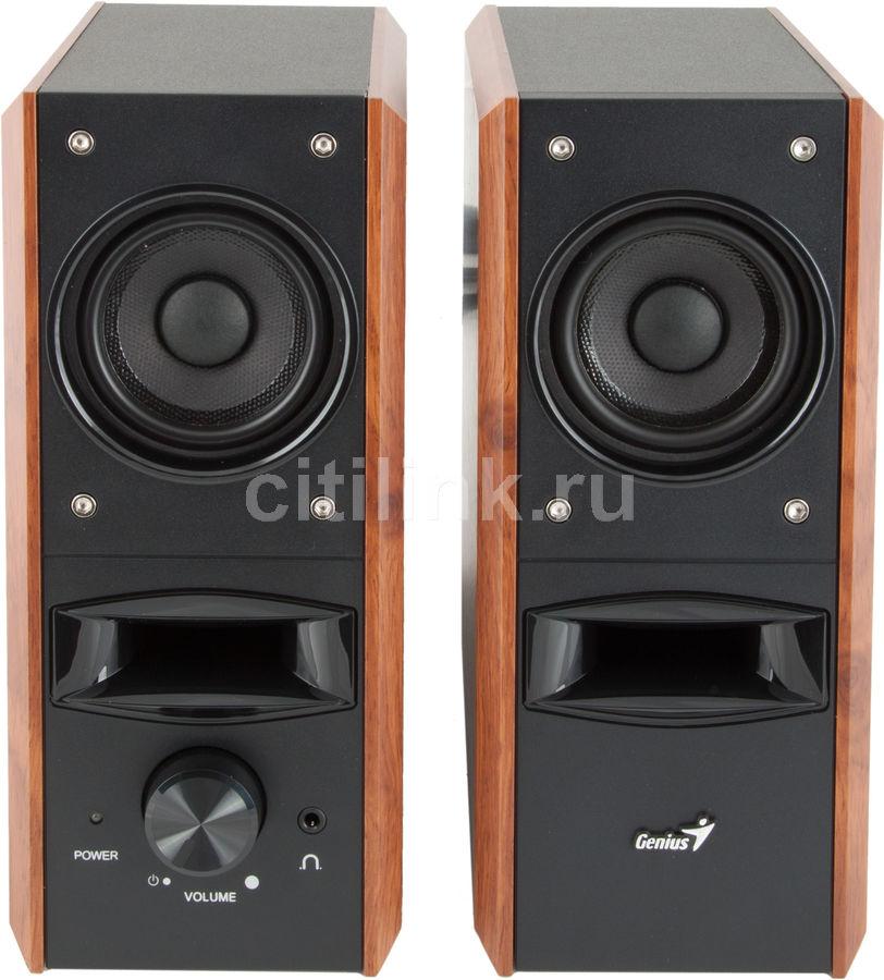 Колонки GENIUS SP-HF800PRO,  коричневый [31730975100]