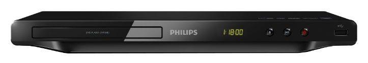 DVD-плеер PHILIPS DVP3800/51,  черный