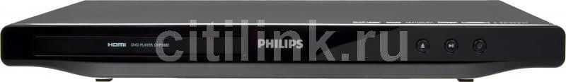 DVD-плеер PHILIPS DVP3880/51,  черный