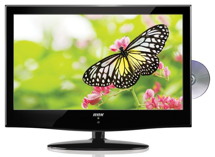 "LED телевизор BBK LED2451HD  23"", FULL HD (1080p),  c DVD плеером,  черный"