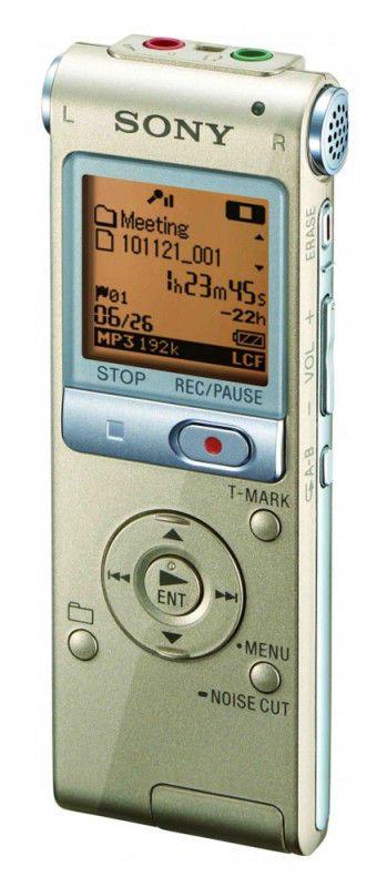 Диктофон SONY ICDUX512N 2 Gb,  золото [icdux512n.ce7]