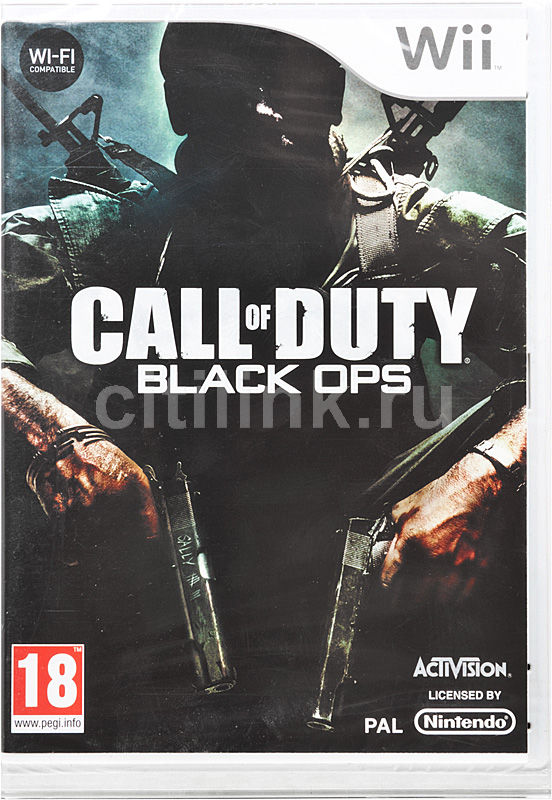 Игра NINTENDO Call of Duty: Black Ops для  Wii Eng