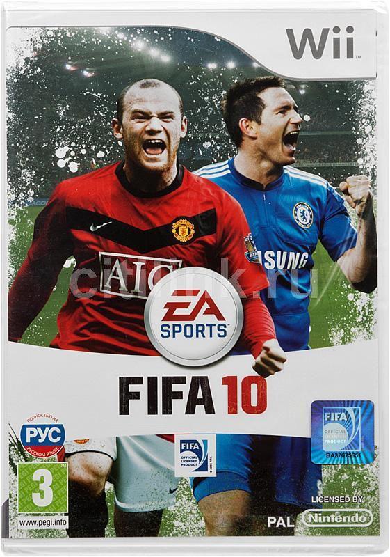 Игра NINTENDO FIFA 10 для  Wii Rus