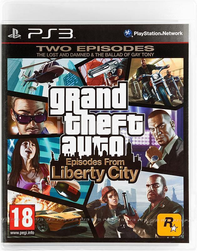 Игра SONY Grand Theft Auto Episodes from Liberty City для  PlayStation3 Eng
