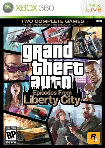 Игра SOFT CLUB Grand Theft Auto: Episodes from Liberty City для  Xbox360 Rus (документация)