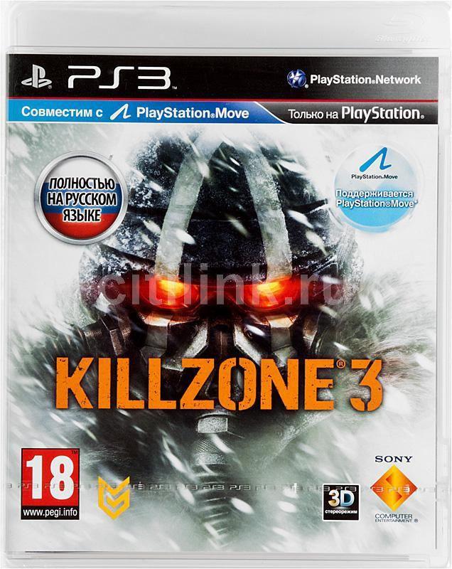 Игра SONY Killzone 3 для  PlayStation3 Rus