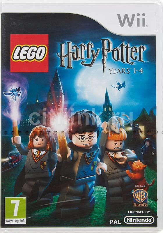 Игра SOFT CLUB LEGO Harry Potter: Years 1-4 для  Wii Eng