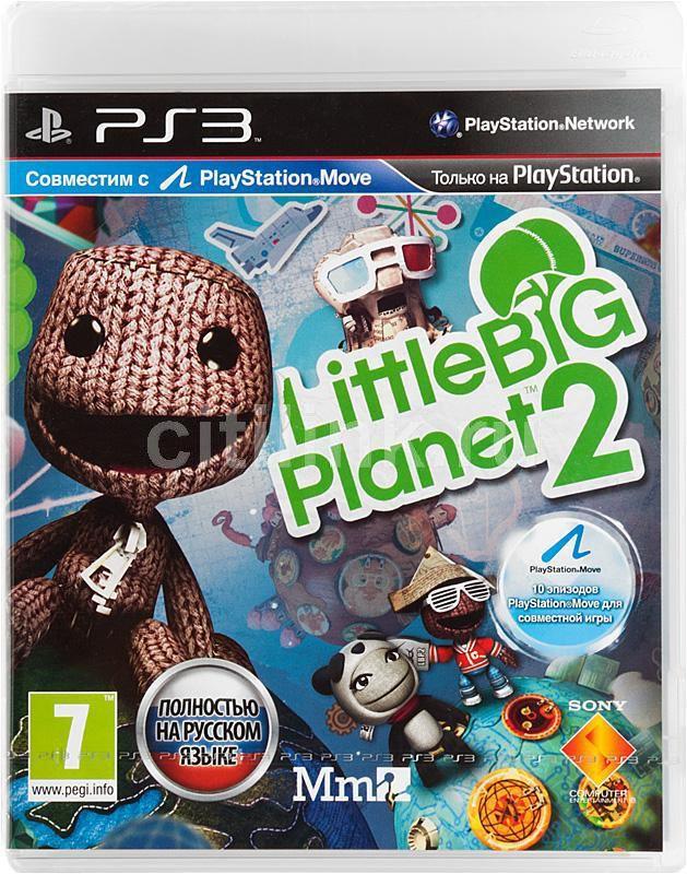 Игра SONY LittleBigPlanet 2 для  PlayStation3 Rus