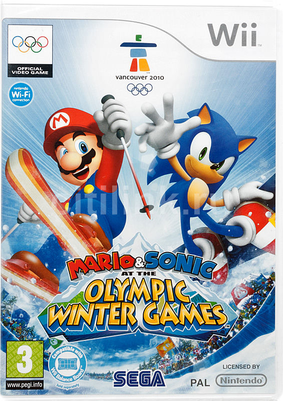 Игра NINTENDO Mario & Sonic at the Winter Olympic Games для  Wii Eng