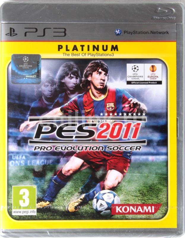 Игра SONY Pro Evolution Soccer 2011 (Platinum) для  PlayStation3 Rus