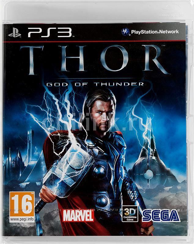 Игра SONY THOR: God of Thunder для  PlayStation3 Eng