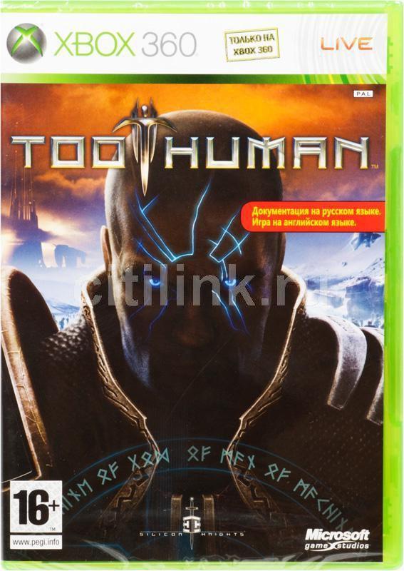 Игра MICROSOFT Too Human для  Xbox360 Rus (документация)