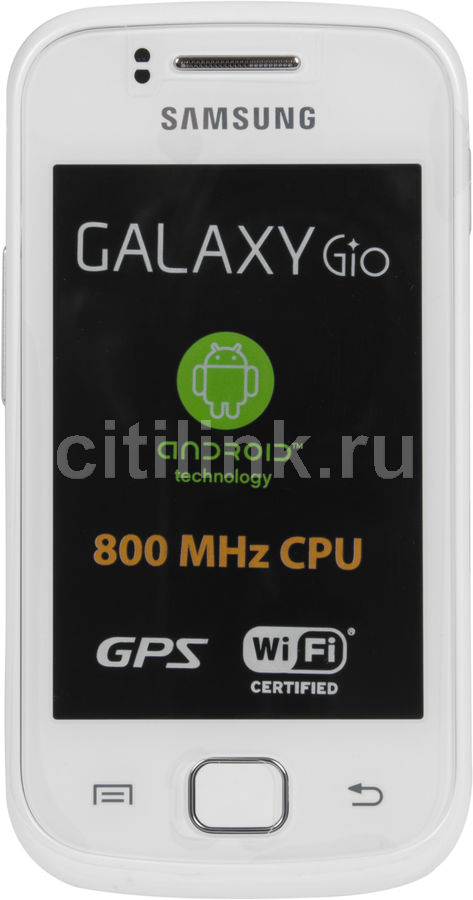 Смартфон SAMSUNG Galaxy Gio GT-S5660  белый