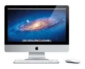 Моноблок APPLE iMac MC309RS/A, Intel Core i5 2400S, 4Гб, 500Гб, AMD Radeon HD 6750М - 512 Мб, Mac OS X Lion, белый