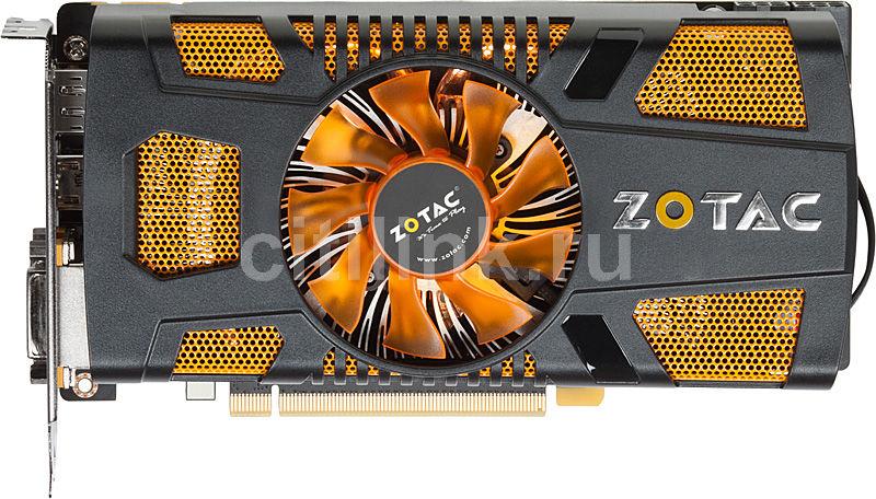 Видеокарта ZOTAC GeForce GTX 560,  1Гб, GDDR5, Ret [zt-50701-10m]