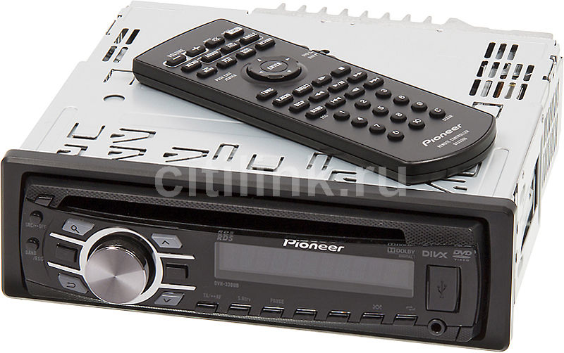 Автомагнитола PIONEER DVH-330UB,  USB