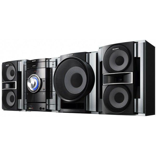 Музыкальный центр SONY MHC-RV333DL,  черный