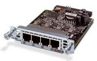 Модуль Cisco Four-port Voice Interface Card - FXO (Universal) (VIC2-4FXO=)