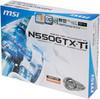 Видеокарта MSI GeForce GTX 550Ti,  1Гб, GDDR5, OC,  Ret [n550gtx-ti-m2d1gd5/oc] вид 7