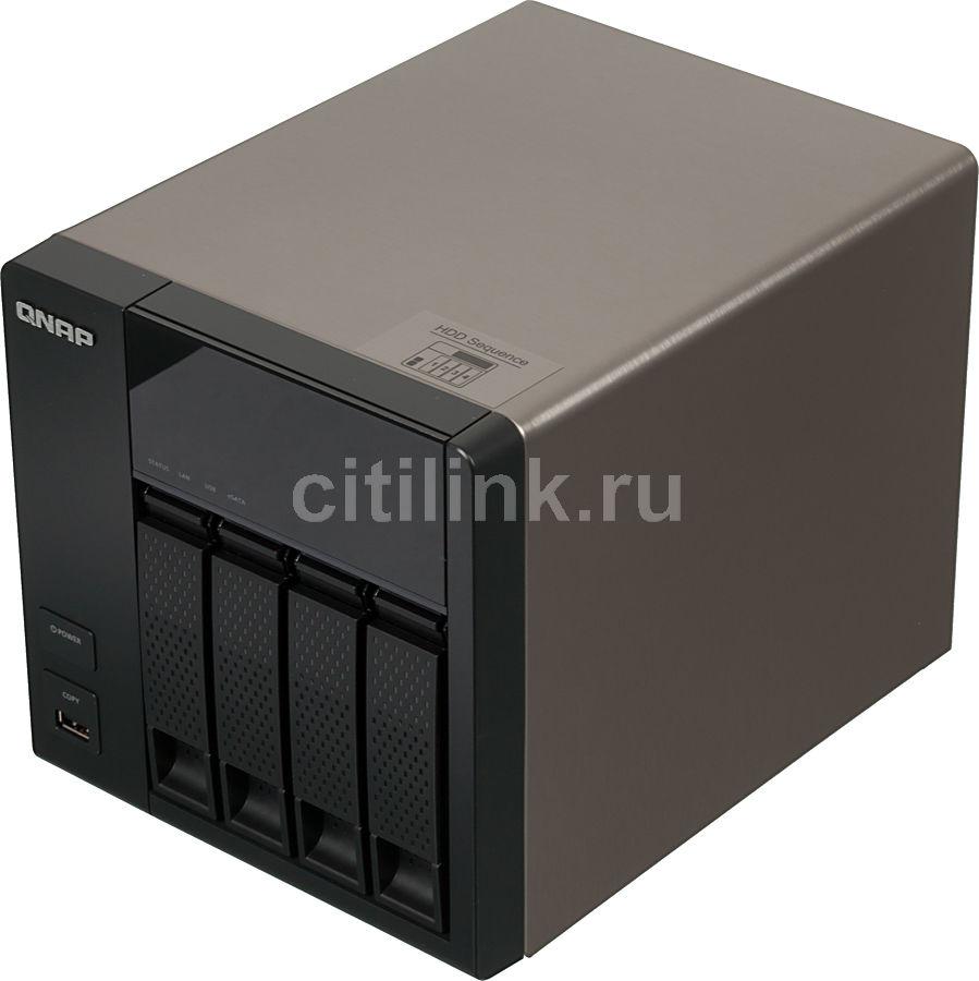 Сетевое хранилище QNAP TS-412,  без дисков