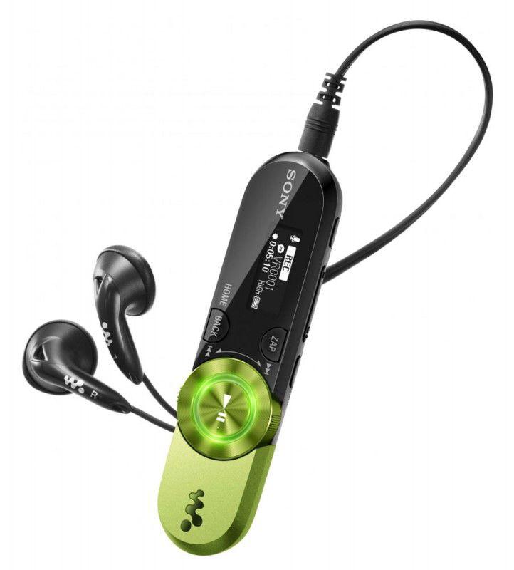 MP3 плеер SONY NWZ-B162FG flash 2Гб зеленый [nwzb162fg]