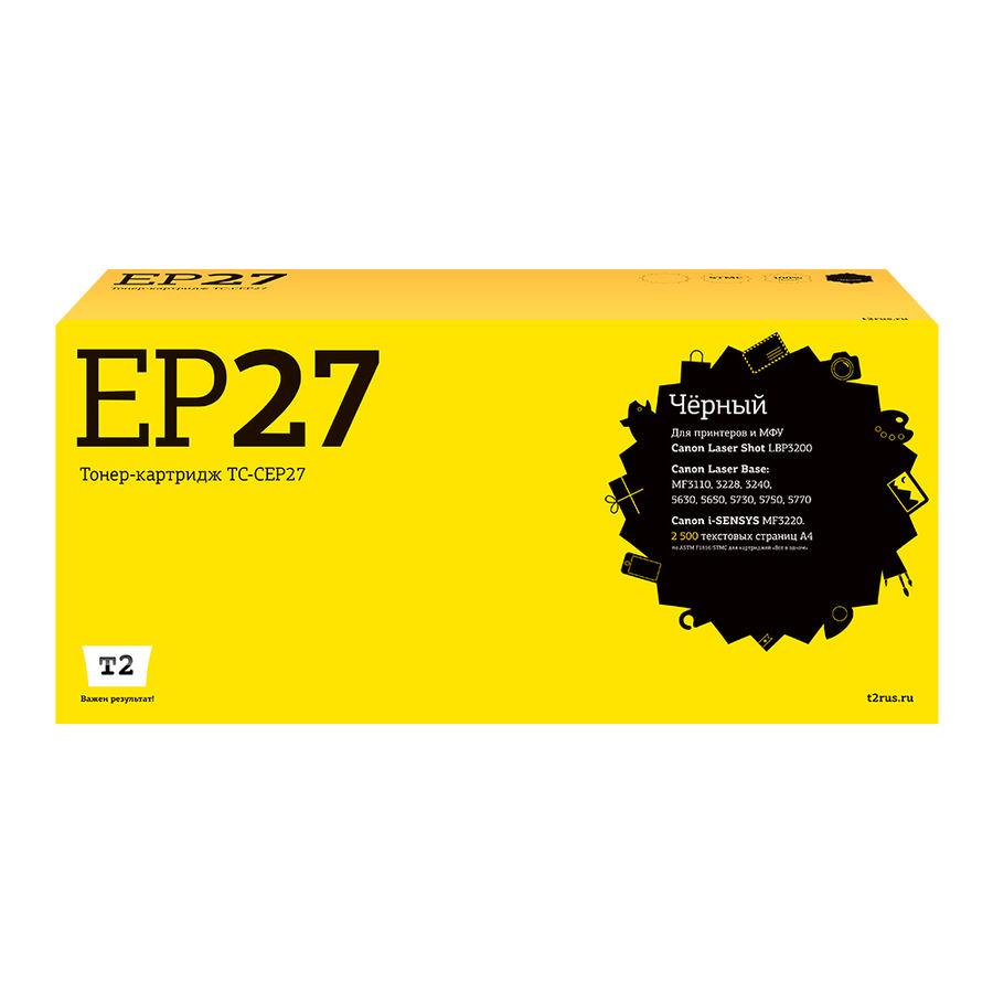 Картридж T2 EP-27 черный [tc-cep27]