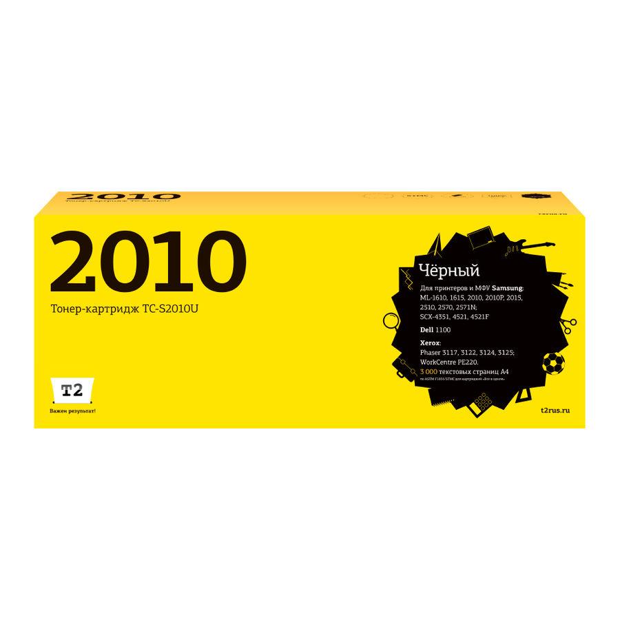 Картридж T2 ML-2010D3 черный [tc-s2010]