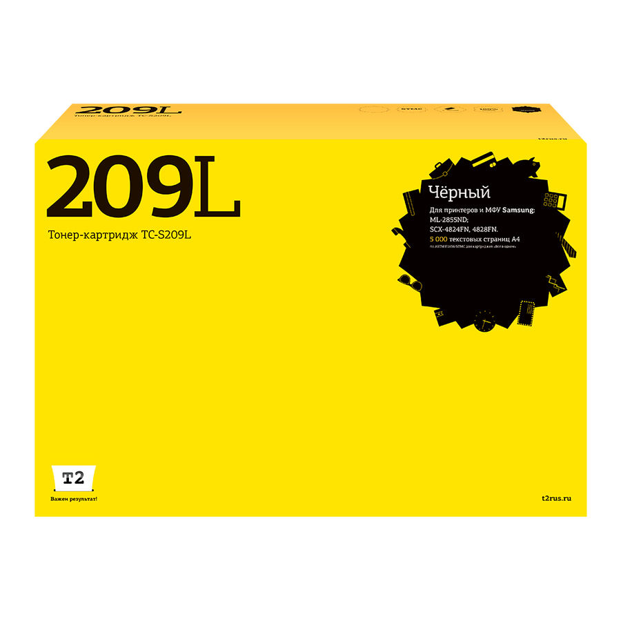 Картридж T2 MLT-D209L черный [tc-s209l]