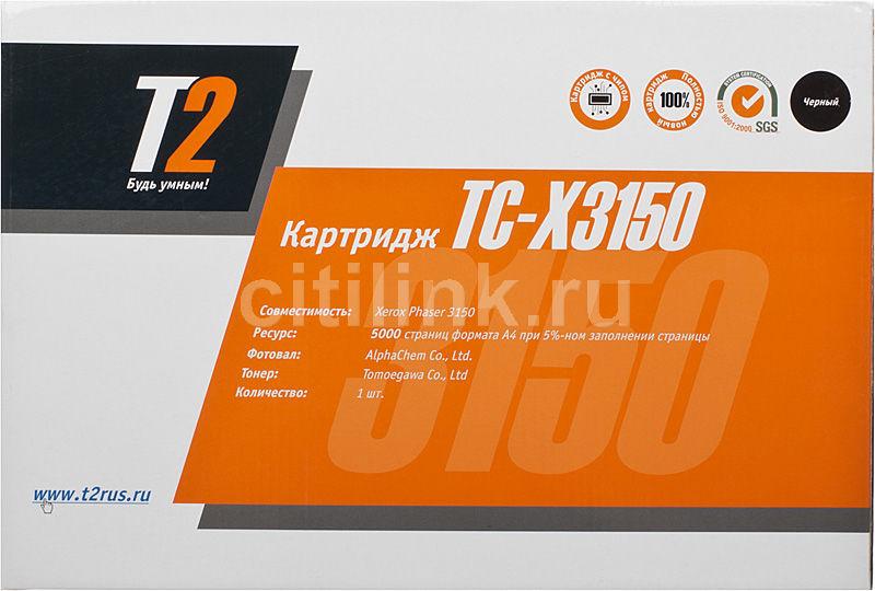 Картридж T2 109R00747 TC-X3150,  черный