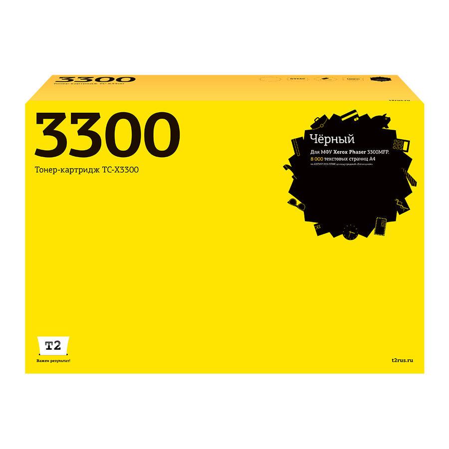 Картридж T2 106R01412 TC-X3300,  черный