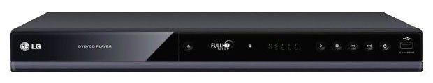 DVD-плеер LG DVX-689H,  черный [dvx689h]