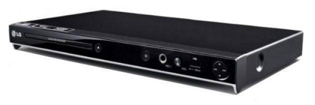 DVD-плеер LG DVX-691K,  черный