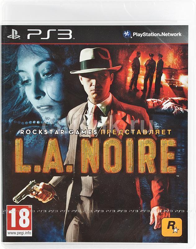 Игра SONY L.A.Noire для  PlayStation3 Rus (документация)